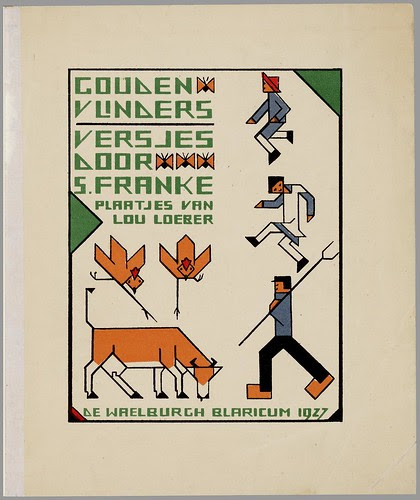 Gouden vlinders, text by S. Franke, illustrated by Lou Loeber, 1927