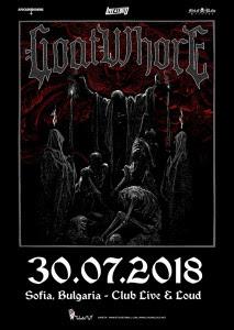 GOATWHORE с концерт в София на 30-ти юли