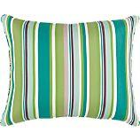 Sunbrella® Sanibel Stripe Back Pillow