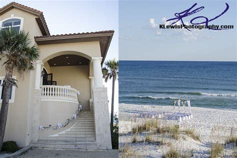 wedding photographers  pensacola beach fl klewis