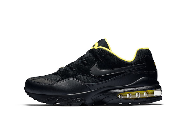 best cheap 96c64 d9483 Nike Reimagines the Air Max 94 in a Clean Black/Yellow Color Scheme