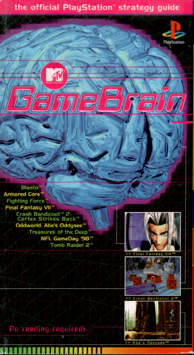 MTV Game Brain VHS