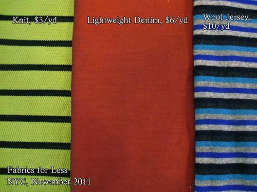 Fabrics For Less, NYC, 11-2011