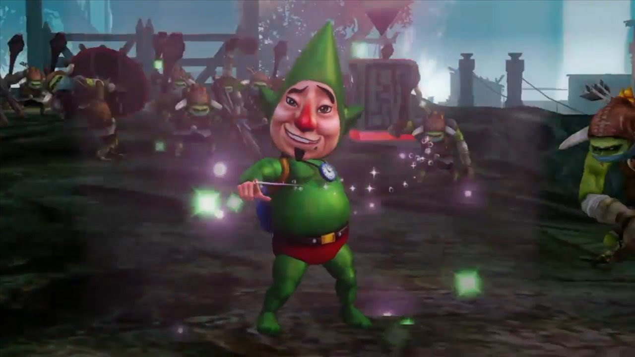 Did You Know Gaming wants to yell some facts about Tingle at you screenshot