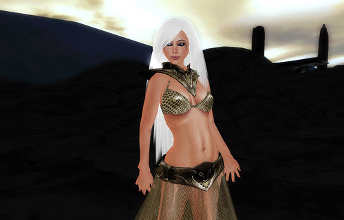 Dragonscale dress III