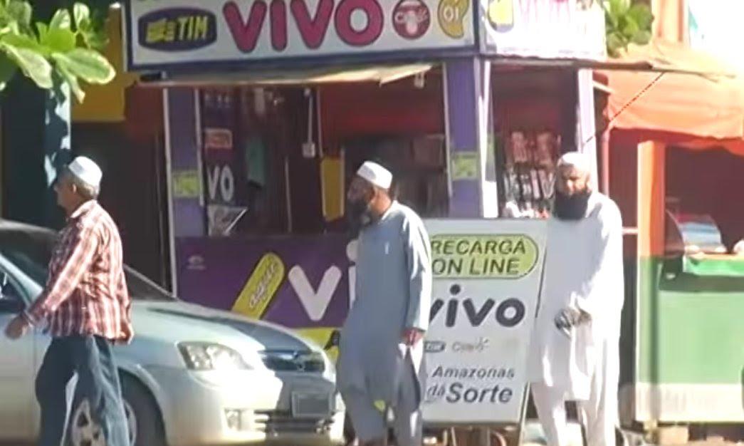 Resultado de imagem para muçulmanos chegando norte brasil
