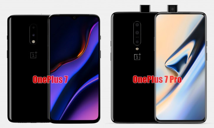 More specs for OnePlus 7 and 7 Pro surface - screen, storage and battery details