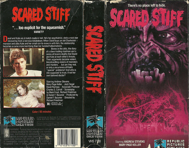 Scared Stiff (VHS Box Art)