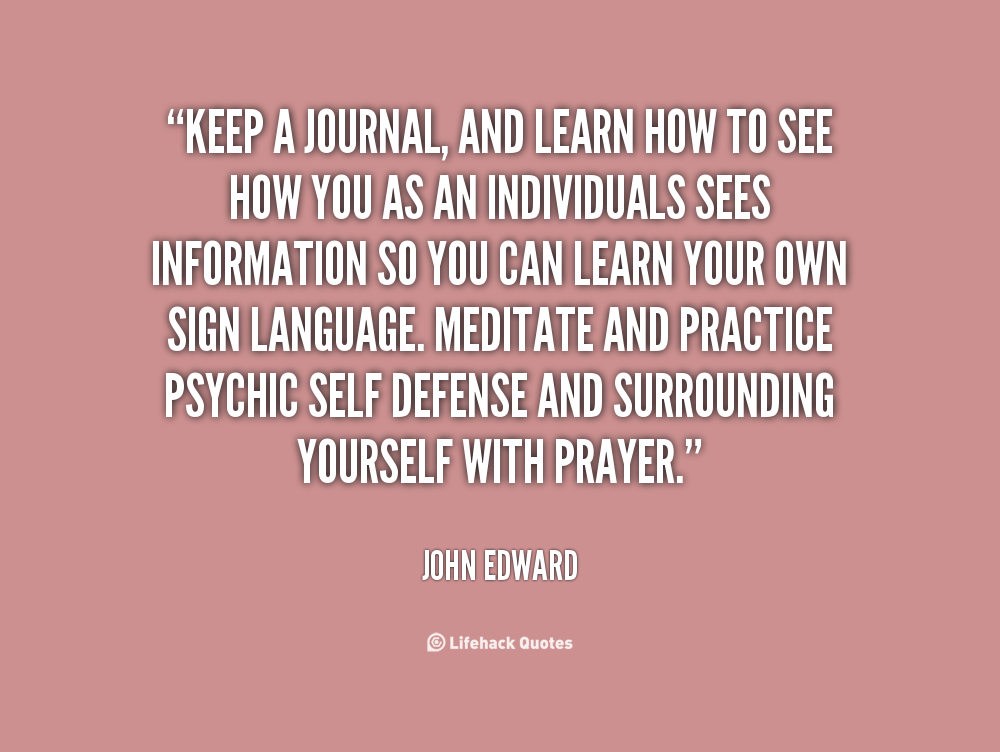Inspirational Quotes A Journal Keeping Quotesgram