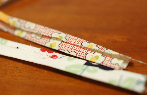 How to make a patchwork string 9