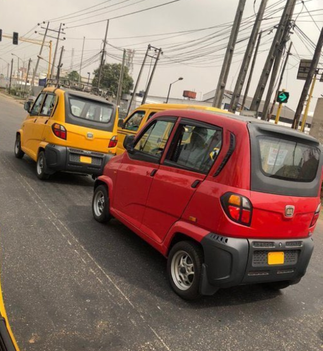 See The Small Cars Lagos State Government Used To Replace Keke Napep (Photos)