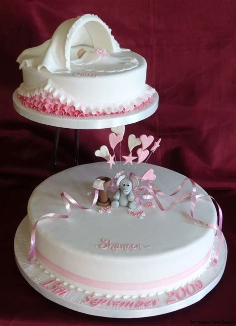 Christening Cakes   From £60.00   Centrepiece Cake Designs