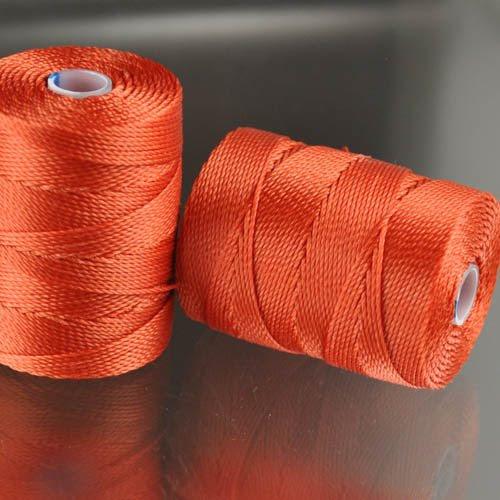s25051 Thread -  C-Lon Bead Cord - Orange (Spool)