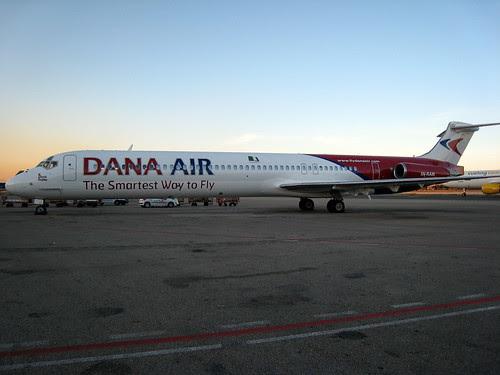 """Dana Air MD-83 """"5N-RAM"""" Lagos"""