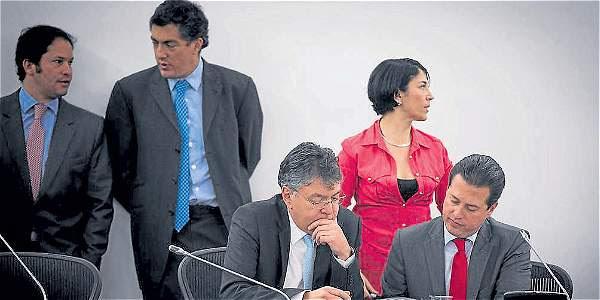 El debate al proyecto de ley anticontrabando tuvo momentos de tensión.