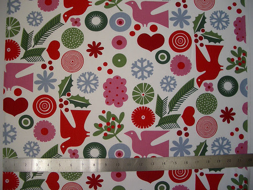Scandinavian Style Cotton Christmas Fabric - a photo on Flickriver