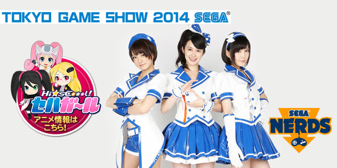 [TGS 2014] SEGA Hard Girls Main Stage report!