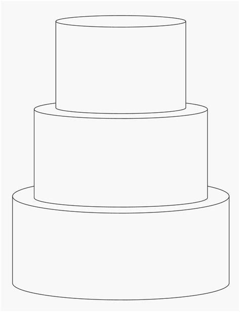 3 Tier Cake Template   Templates & Tutorials (baking) in