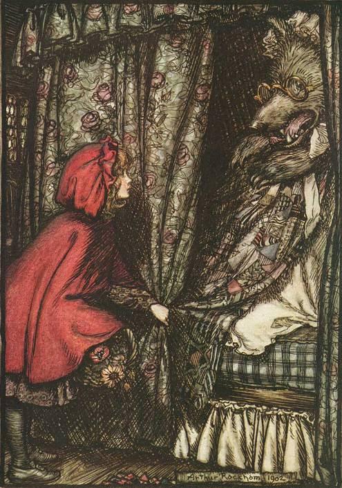 Артур Рэкхем. Красная Шапочка / Little Red Riding Hood