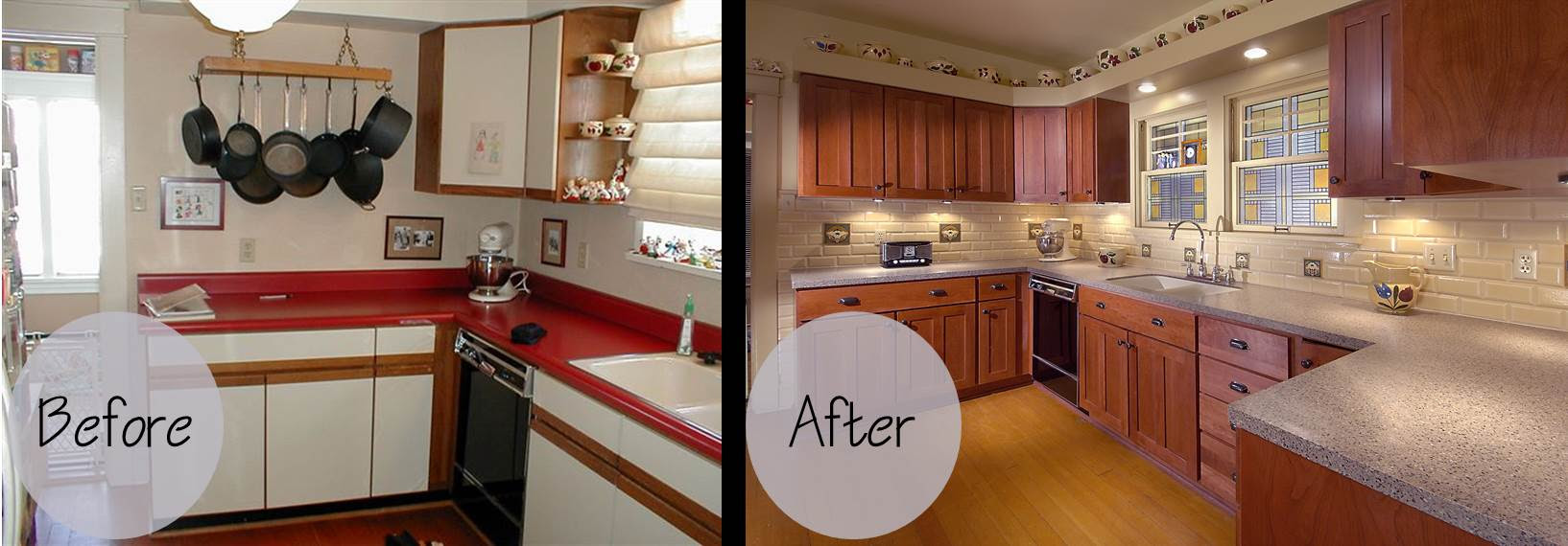 Lyon Kitchen Before and After