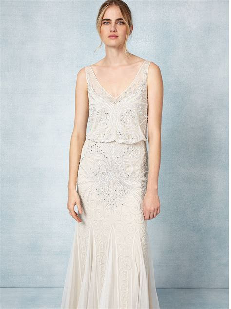 Phase Eight Cathlyn Wedding Dress, Ivory at John Lewis