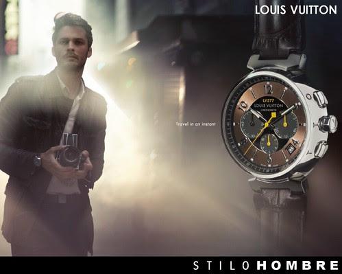 LOUIS VUITTON | Colección Tambour in Black