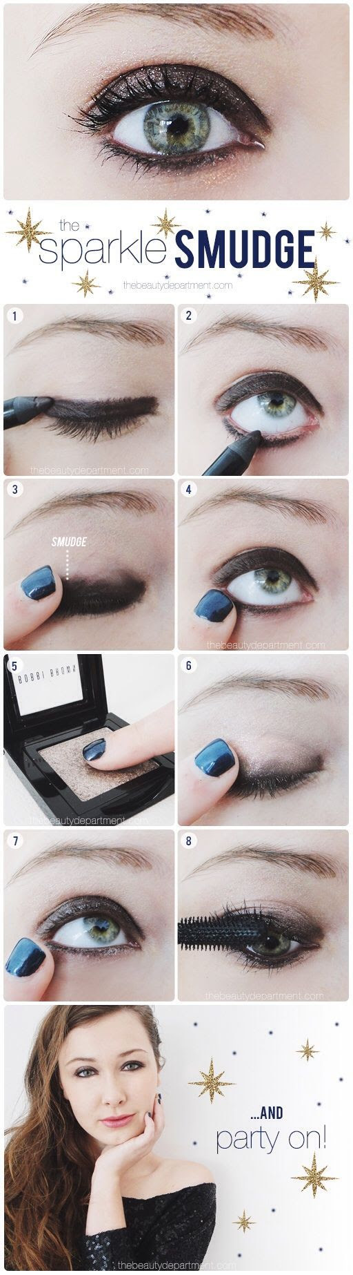 A stunning alternative to the smoky eye!