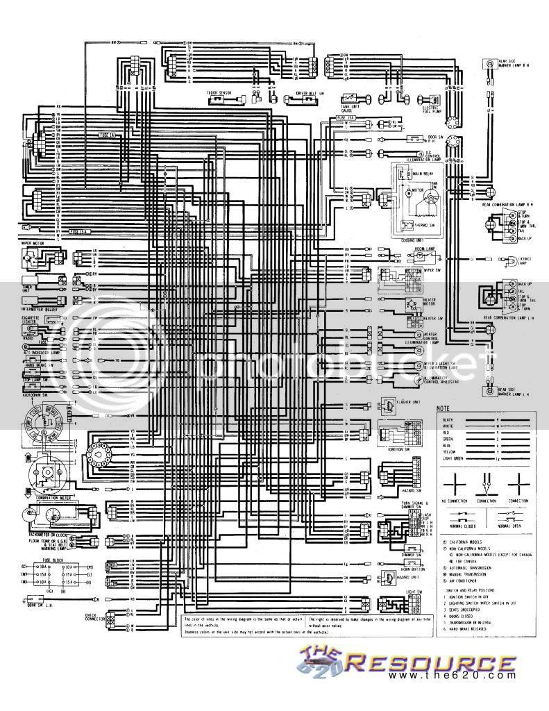 Datsun 620 Wiring Diagram - Wiring Diagram | 73 Datsun 620 Wiring Diagram |  | Wiring Diagram