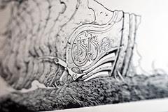 Isis Drawing - Detail