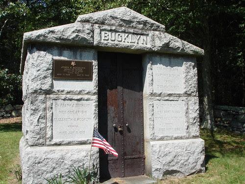 Bucklyn Mausoleum by midgefrazel