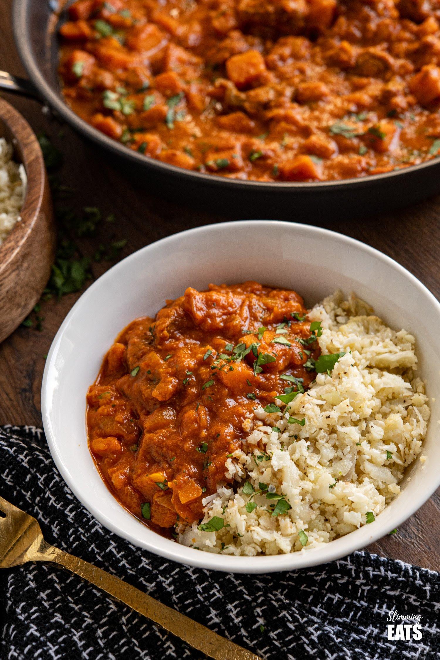 Beef and Sweet Potato Tikka Masala | Slimming Eats Recipe