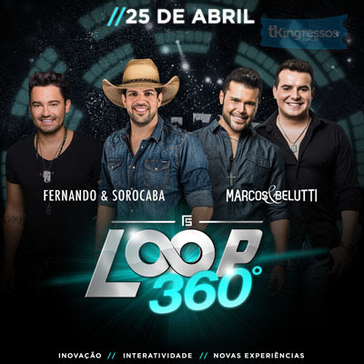 Loop 360º - 25/04/15 - Presidente Prudente - SP  - TKINGRESSOS