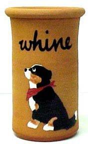 Bernese Mountain Dog Terra Cotta Whine Cooler (Wine Cooler)