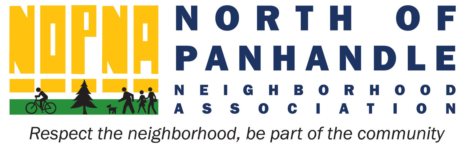 NORTH OF PANHANDLE NEIGHBORHOOD ASSOCIATION