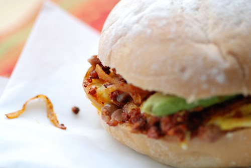 Mexican breakfast torta