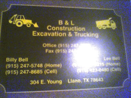 Billy bell and lee bell's trucking
