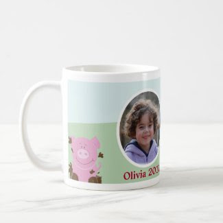 Farm Babies Barnyard Custom Photo Mug mug