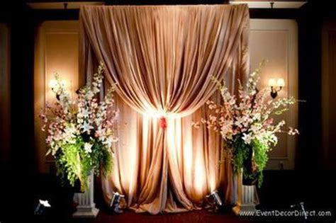 diy professional wedding backdrop kit  pipe drape
