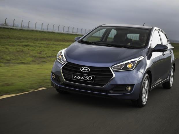 Hyundai HB20 2016 (Foto: Divulgação)