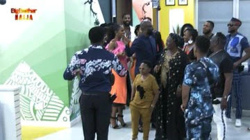BBNaija: Patience Ozokwor, Chinedu Ikedieze, Other Nollywood Stars Surprise Housemates With Visit