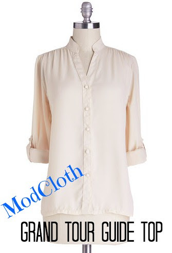 ModCloth Grand Tour Guide Top