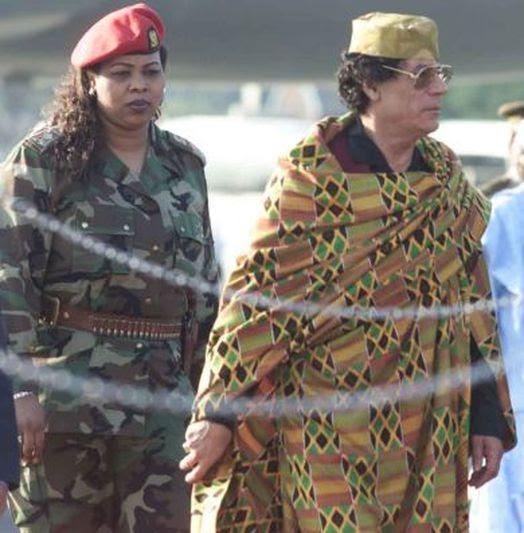Gaddafi's All Female Bodyguards (38 pics)