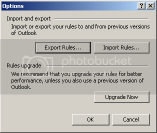 How to backup outlook 2007 rules