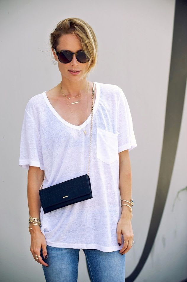 Le Fashion Blog LA Casual Anine Bing Sunglasses Linen Pocket Tee Dainty Necklaces Rings Bracelets Mini Crossbody Chain Bag Jeans photo Le-Fashion-Blog-LA-Casual-Anine-Bing-Sunglasses-Linen-Pocket-Tee-Dainty-Necklaces-Rings-Bracelets-Mini-Crossbody-Chain-Bag-Jeans.jpg