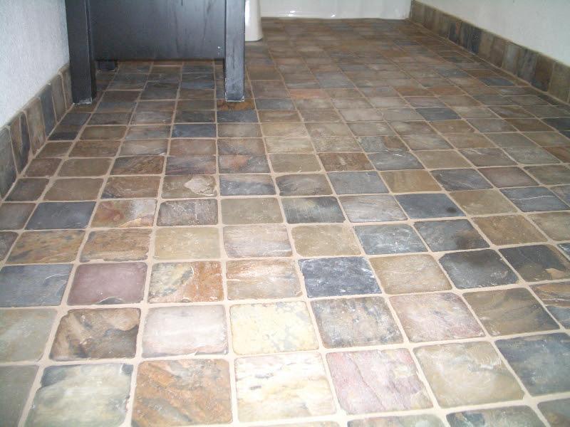 Bathroom Slate Tile Ideas images