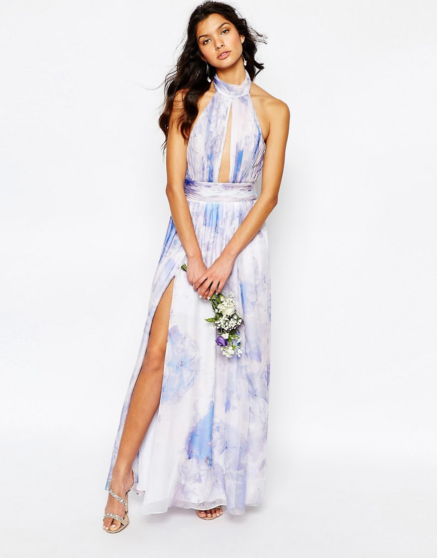 Image 4 of Fame and Partners River Maxi Dress in Pastel Print