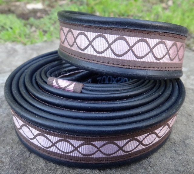 Dog Leash - Recycled Tire Tube via Etsy.