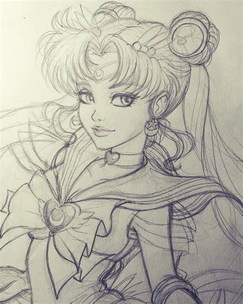 sailor moon sketch sailormoon sketch pencildrawing