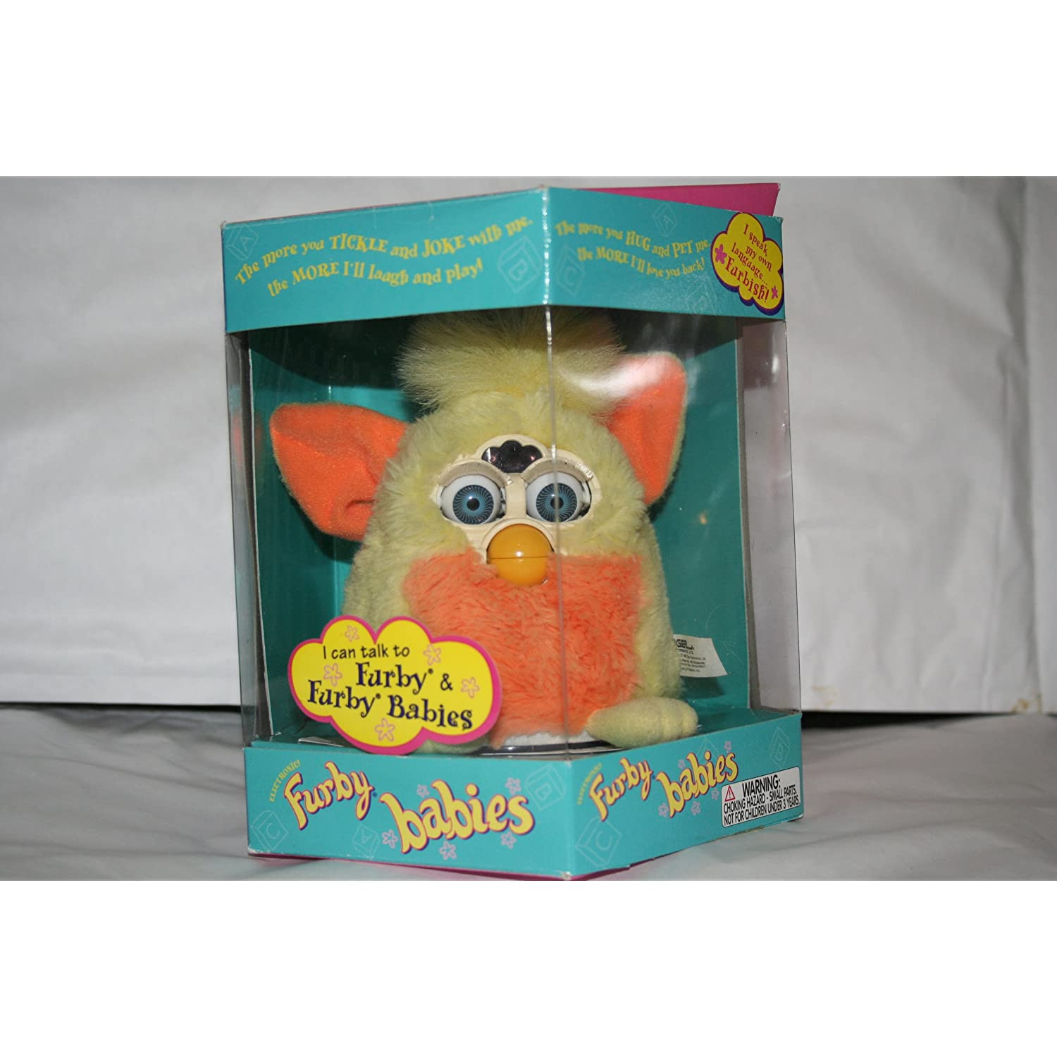 Furby Baby - Pink and Yellow with Mohawk
