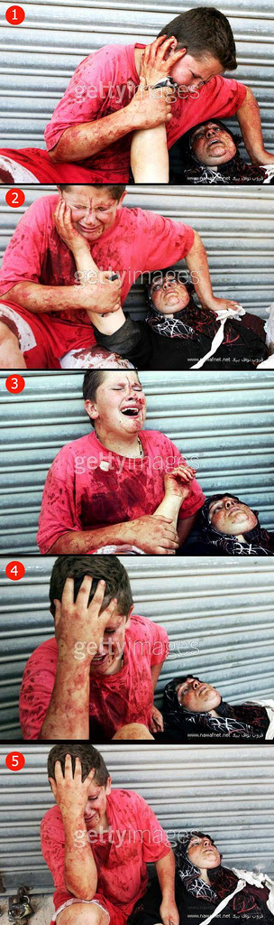 Mother n Son in Gaza